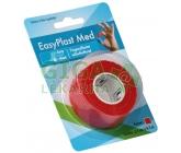 Náplast na prsty samolep.elast. 2,5cmx4,5m červená 1ks