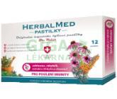 HerbalMed pastil. Dr.Weiss Echin+rakytník+vit.C 12