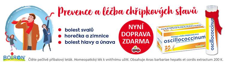 GigaLékárna.cz - Velké Oscillo s dopravou zdarma