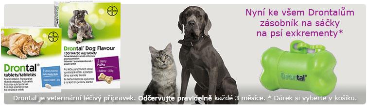 GigaLékárna.cz - Drontal s dárkem