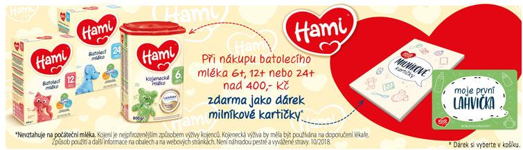 GigaLékárna.cz - Milníkové kartičky jako dárek k Hami