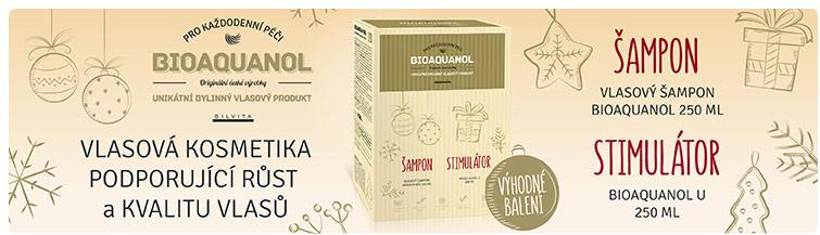 GigaLékárna.cz - Vánoční balení Bioaquanolu pro Vaše vlasy
