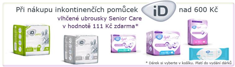 GigaLékárna.cz - Vlhčené ubrousky k ID pomůckám zdarma