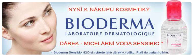 GigaLékárna.cz - Bioderma Sensibio H2O k nákupu Biodermy zdarma