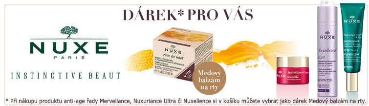 GigaLékárna.cz - Nuxe medový balzám zdarma k nákupu Nuxe