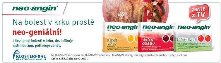 GigaLékárna.cz - Neo-angin na bolest v krku