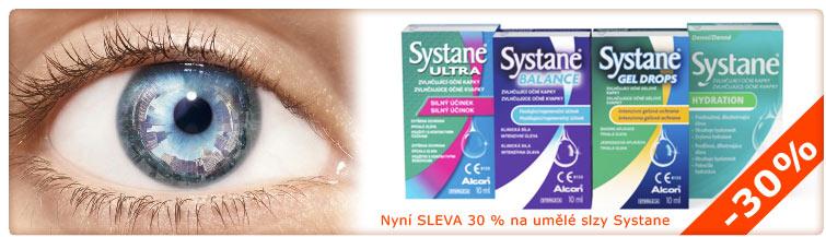 GigaLékárna.cz - Sleva 30 % na umělé slzy Systane