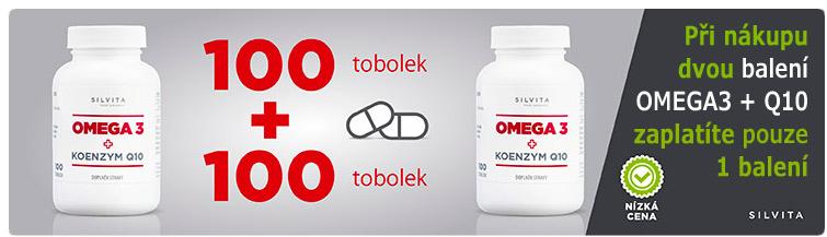 GigaLékárna.cz - Silvita Omega3+Q10 v akci 1+1