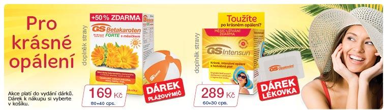 GigaLékárna.cz - GS pro krásné opálení s dárky