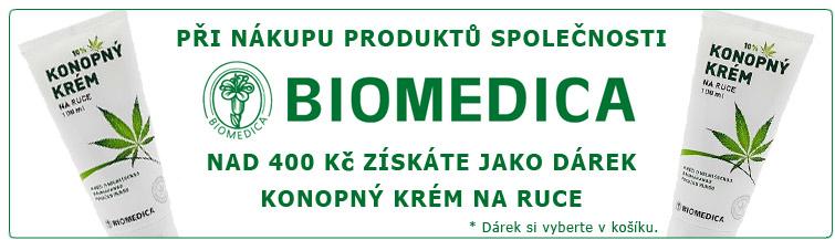 GigaLékárna.cz - Biomedica konopný krém k nákupu zdarma