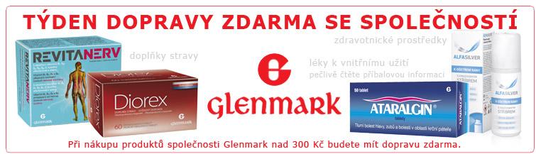GigaLékárna.cz - Doprava zdarma s Glenmarkem