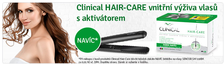 GigaLékárna.cz - Clinical-Hair + žehlička na vlasy