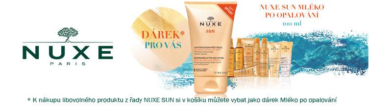 GigaLékárna.cz - K Nuxe Sun mléko po opalování zdarma