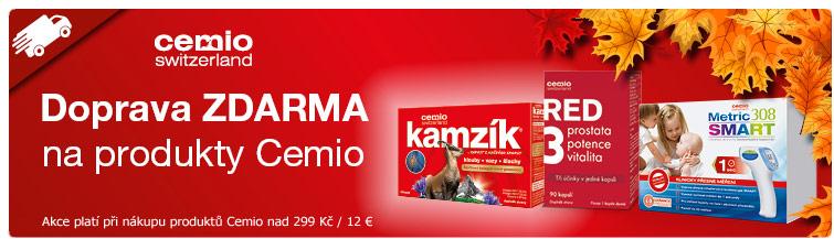 GigaLékárna.cz - Doprava zdarma na produkty Cemio