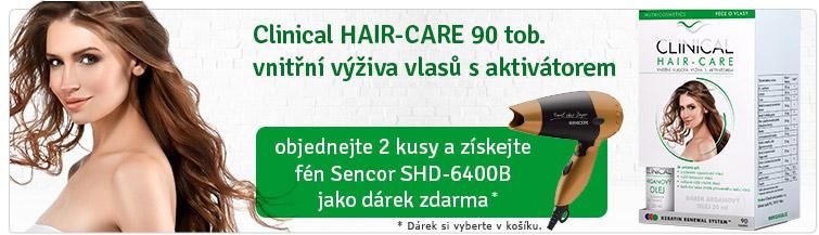 GigaLékárna.cz - Clinical-Hair + cestovní fén Sencor