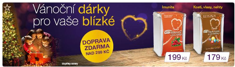 GigaLékárna.cz - GS Vánoce s dopravou zdarma