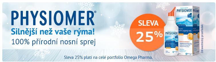 GigaLékárna.cz - Physiomer a OmegaPharma -25 %