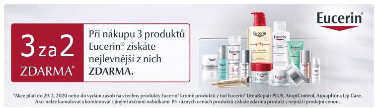 GigaLékárna.cz - Eucerin vybrané řady v akci 3za2