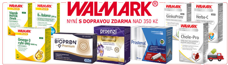GigaLékárna.cz - Walmark s dopravou zdarma