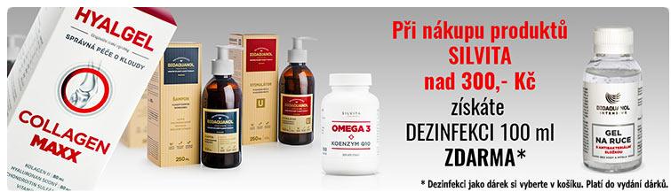 GigaLékárna.cz - Dezinfekce Silvita jako dárek