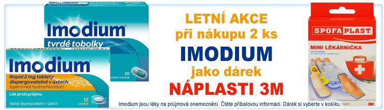 GigaLékárna.cz - Letní akce s Imodium