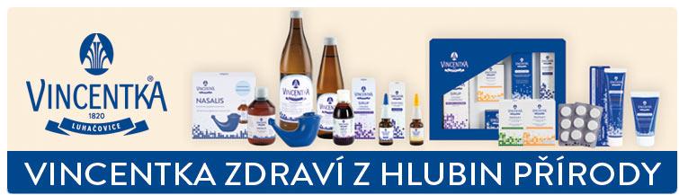 GigaLékárna.cz - Vincentka - Zdraví z hlubin přírody
