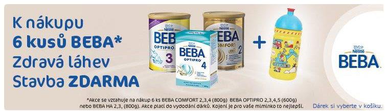 GigaLékárna.cz - Nestlé Beba s dárkem Láhev