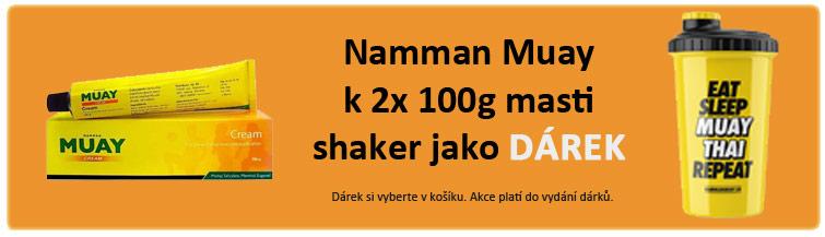 GigaLékárna.cz - Namman Muay s Shakerem zdarma