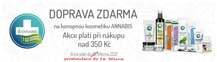 GigaLékárna.cz - Doprava zdarma s Annabis