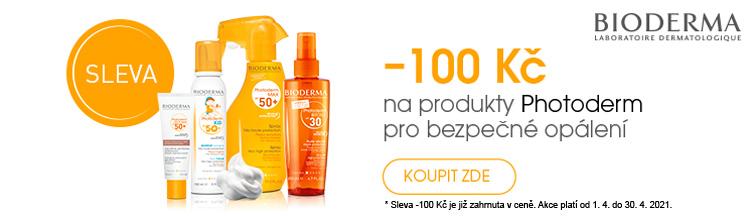 GigaLékárna.cz - Bioderma Photoderm sleva 100 Kč