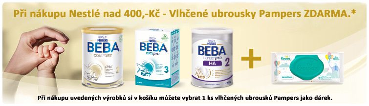 GigaLékárna.cz - Beba 400 a ubrousky jako dárek