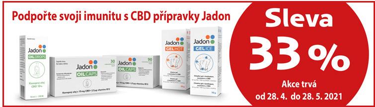 GigaLékárna.cz - Jadon CBD s 33 % slevou