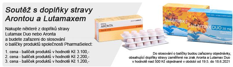 GigaLékárna.cz - Soutěž s Aronta a LutamaxDuo