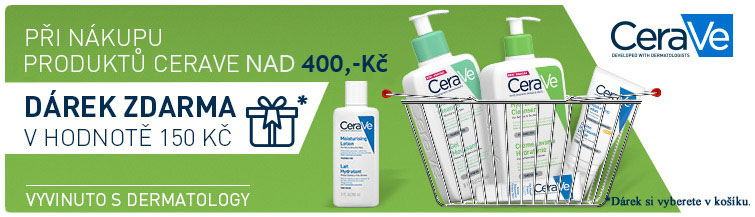 GigaLékárna.cz - Cerave - při koupi 2 produktů NAD 400,- dárek v ho