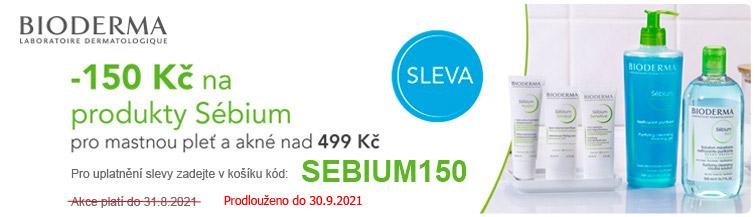 GigaLékárna.cz - Bioderma SÉBIUM sleva -150 Kč