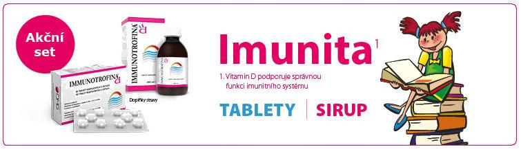 GigaLékárna.cz - Immunotrofina akční set tablety + sirup