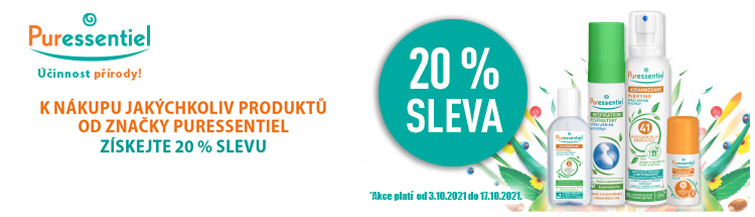 GigaLékárna.cz - Puressentiel 20 % sleva