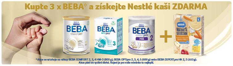 GigaLékárna.cz - Kupte 3x BEBA a získejte Nestlé kaši ZDARMA