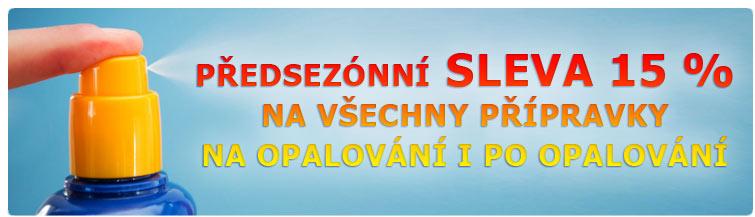 GigaLékárna.cz - Sleva na přípravky na/po opalování