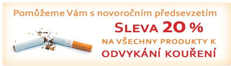 GigaLékárna.cz - Novoroční odvykání kouření ze slevou
