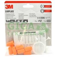 3M Chrániče sluchu zátkové s úložným boxem 8ks