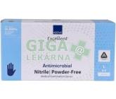 ABENA Rukavice antimikrobiální NITRIL L modré 200k