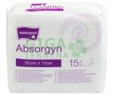 Absorgyn porodnické vložky 35x11cm 15ks