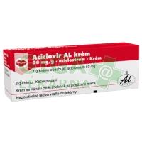 Aciclovir AL krém 2g