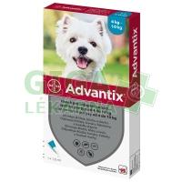 Advantix pro psy spot on dog od 4-10kg 1x1ml
