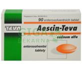 Obrázek Aescin-Teva 20mg 90 tablet