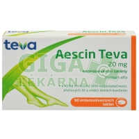 Aescin-Teva 20mg 90 tablet