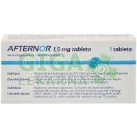 Afternor 1.5mg 1 tableta