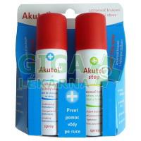 AKUTOL spray 60ml+ Akutol STOP spray 60ml DUOPACK