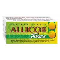 Allicor Forte česnek 60 tablet Naturvita